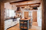 Фото 19 Дизайн кухни в стиле прованс: французский шарм и деревенское очарование (60 фото)