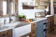 Фото 22 Дизайн кухни в стиле прованс: французский шарм и деревенское очарование (60 фото)