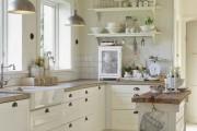 Фото 24 Дизайн кухни в стиле прованс: французский шарм и деревенское очарование (60 фото)