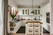 Фото 5 Дизайн кухни в стиле прованс: французский шарм и деревенское очарование (60 фото)