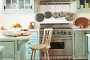 Фото 25 Дизайн кухни в стиле прованс: французский шарм и деревенское очарование (60 фото)