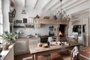 Фото 27 Дизайн кухни в стиле прованс: французский шарм и деревенское очарование (60 фото)