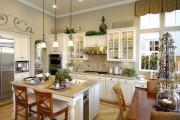Фото 29 Дизайн кухни в стиле прованс: французский шарм и деревенское очарование (60 фото)