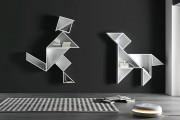 Фото 11 Настенные полки: обзор функциональных моделей в стиле минимализм, лофт, модерн и хай-тек