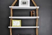 Фото 4 Настенные полки: обзор функциональных моделей в стиле минимализм, лофт, модерн и хай-тек