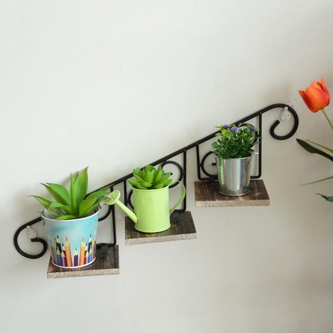 Полочки на стену фото для цветов