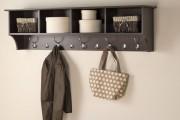Фото 2 Настенные полки: обзор функциональных моделей в стиле минимализм, лофт, модерн и хай-тек