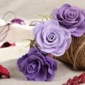 Роза из фоамирана: 50 Идей элегантных готовых украшений, вводный мастер-класс фото
