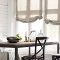 Льняные шторы: природная элегантность и экологичность (фото) фото