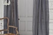 Фото 6 Льняные шторы: природная элегантность и экологичность (фото)