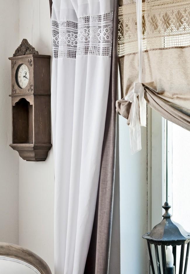 Прекрасное сочетание льна, хлопка и кружева: создаем индивидуальный и уникальный стиль в доме под старину