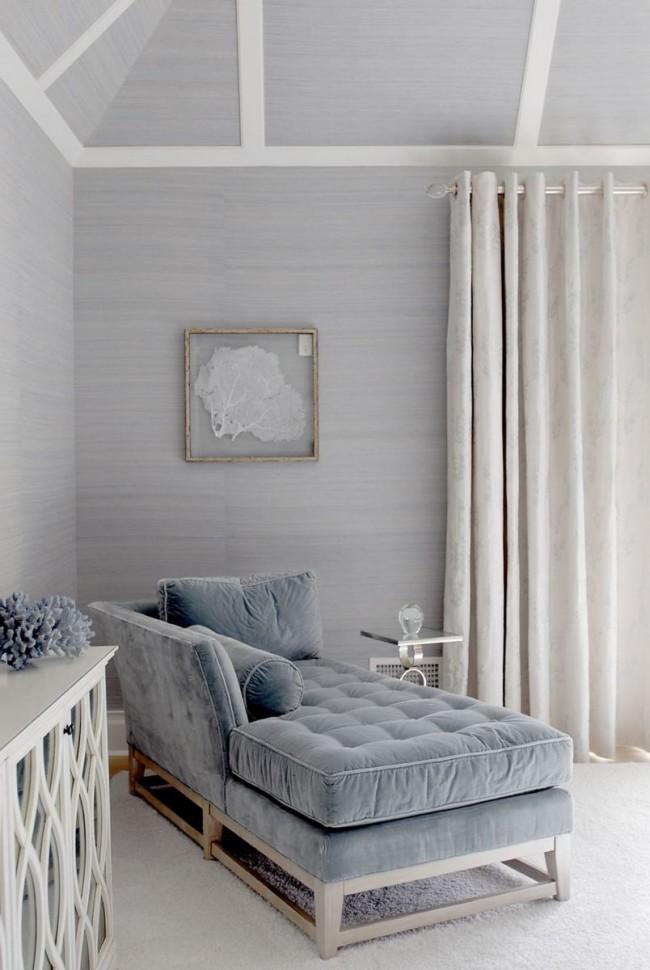 Льняная штора с лавсаном добавит комнате роскоши и величия