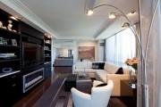 Фото 4 Торшеры в интерьере гостиной (70+ фото): стильное и функциональное освещение