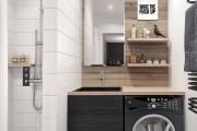 Фото 5 50 Идей дизайна ванной комнаты площадью 3 кв. м: Все стили от чистой роскоши до ультрасовременности (фото)