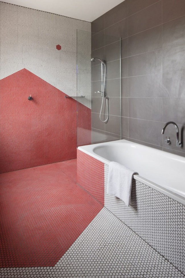 Мозаичный рисунок, как дизайнерский ход по увеличению пространства в маленьких помещениях