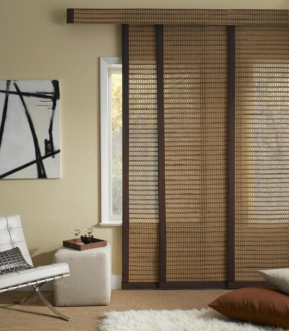Бамбуковые панельные шторы