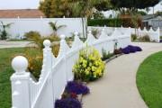 Фото 20 Красивый забор : изюминка для вашей усадьбы, 65 фото идей