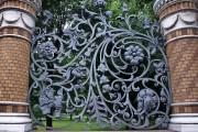 Фото 5 Красивый забор : изюминка для вашей усадьбы, 65 фото идей