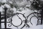 Фото 7 Красивый забор : изюминка для вашей усадьбы, 65 фото идей