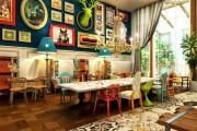 Фото 6 75 эксцентричных идей бохо-стиля в интерьере: вычурная роскошь и абсолютная свобода (фото)