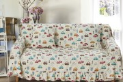 Фото 10 Чехлы на диван (36 фото): эстетично, практично и функционально