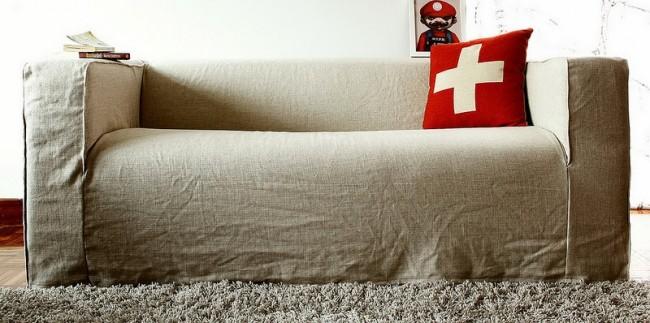 Ткань, которая долго сохраняет свой цвет, так же подойдет для комнаты малыша