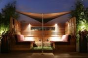 Фото 3 Деревянные беседки (65 фото): уютный уголок релакса на вашей даче