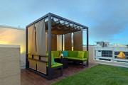 Фото 29 Деревянные беседки (65 фото): уютный уголок релакса на вашей даче