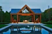 Фото 8 Деревянные беседки (65 фото): уютный уголок релакса на вашей даче