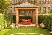 Фото 5 Деревянные беседки (65 фото): уютный уголок релакса на вашей даче