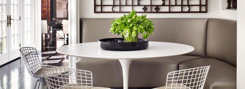 Диванчик на кухню: 75 симпатичных идей уютного уголка для семейного отдыха