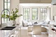 Фото 5 Диванчик на кухню: 75 симпатичных идей уютного уголка для семейного отдыха