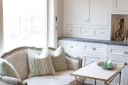 Фото 4 Диванчик на кухню: 75 симпатичных идей уютного уголка для семейного отдыха