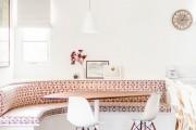 Фото 14 Диванчик на кухню: 75 симпатичных идей уютного уголка для семейного отдыха