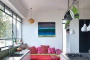 Фото 15 Диванчик на кухню: 75 симпатичных идей уютного уголка для семейного отдыха