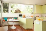 Фото 16 Диванчик на кухню: 75 симпатичных идей уютного уголка для семейного отдыха