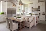 Фото 29 Диванчик на кухню: 75 симпатичных идей уютного уголка для семейного отдыха