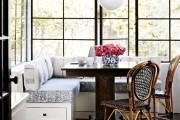 Фото 30 Диванчик на кухню: 75 симпатичных идей уютного уголка для семейного отдыха