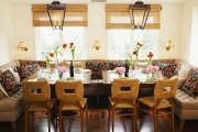 Фото 37 Диванчик на кухню: 75 симпатичных идей уютного уголка для семейного отдыха