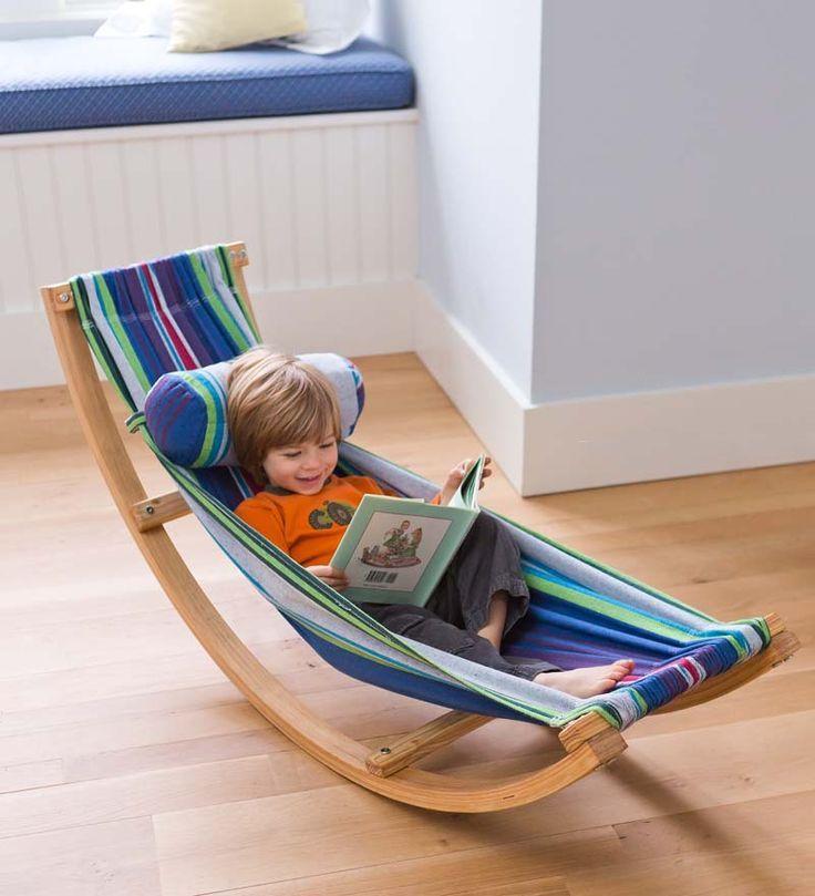 Как сделать кресло-качалку для ребенка