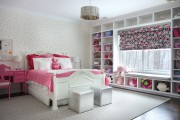 Фото 5 Дизайн детской комнаты для девочек: 100 фото воплощений розовой мечты