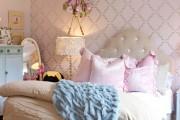 Фото 10 Дизайн детской комнаты для девочек: 100 фото воплощений розовой мечты