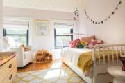 Фото 14 Дизайн детской комнаты для девочек: 100 фото воплощений розовой мечты