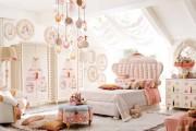 Фото 21 Дизайн детской комнаты для девочек: 100 фото воплощений розовой мечты