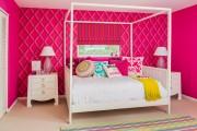 Фото 22 Дизайн детской комнаты для девочек: 100 фото воплощений розовой мечты