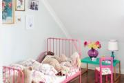 Фото 24 Дизайн детской комнаты для девочек: 100 фото воплощений розовой мечты
