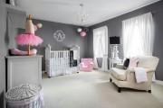 Фото 25 Дизайн детской комнаты для девочек: 100 фото воплощений розовой мечты