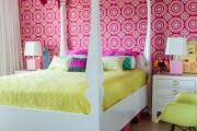 Фото 28 Дизайн детской комнаты для девочек: 100 фото воплощений розовой мечты