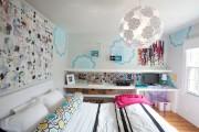 Фото 29 Дизайн детской комнаты для девочек: 100 фото воплощений розовой мечты