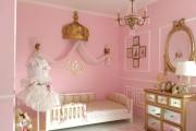 Фото 32 Дизайн детской комнаты для девочек: 100 фото воплощений розовой мечты